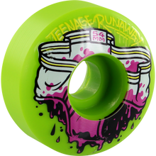 Teenage Runaway - Runaway Dirty Unders 54mm Green - Skateboard Wheels (Set of Four)