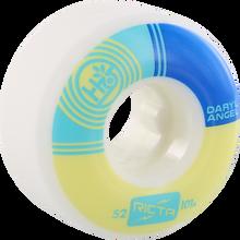 Ricta - Angel Habitat Naturals 52mm 101a Wt/yl/blu - Skateboard Wheels (Set of Four)