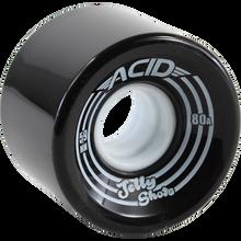 Acid - Jelly Shots 59mm Black  - Skateboard Wheels (Set of Four)