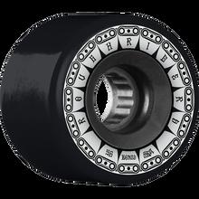 Bones Wheels - Atf Rough Rider Tank 56mm 80a Blk - Skateboard Wheels (Set of Four)