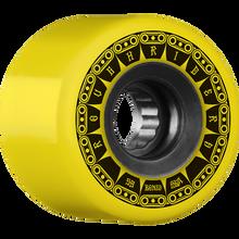 Bones Wheels - Atf Rough Rider Tank 59mm 80a Yel - Skateboard Wheels (Set of Four)