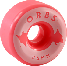 Orbs - Specters Solid 56mm 99a Coral - Skateboard Wheels (Set of Four)