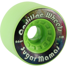 Cadillac - Sugar Mamas 66mm 81a Lime - Skateboard Wheels (Set of Four)