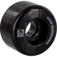 Z Products - Z-smooth Wheels 63mm 78a Black - Skateboard Wheels (Set of Four)