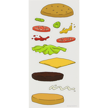 Habitat - Bob's Burgers Expanded Burger Decals Sheet