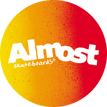 ALMOST - Gradient Flip Decal Single