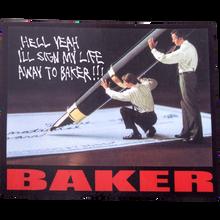 Baker - Lifer Decal Single