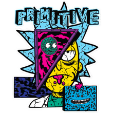 Primitive - R&m Destructed Decal Single