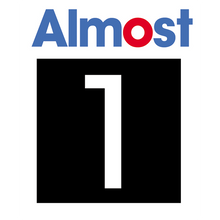 ALMOST - Taladega Decal Single