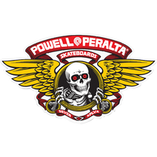 Powell Peralta - Winged Ripper Og Oval Decal Red