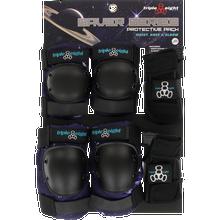 triple eight - 8 Saver 3/pk Pads Jr-galaxy Print - Skateboard Pads