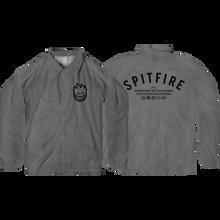 Spitfire - Burn Division Coach Jacket S-grey/blk