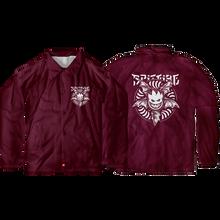 Spitfire - Nocturnus Coach Jacket Xl-maroon/wht