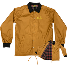 KROOKED - Smoking Jacket S-brown/plaid