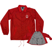 Spitfire - Stock Bighead Swirl Jacket Xl-red