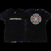 Independent - Bar/cross Girls Ss L-black