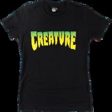 CREATURE - Logo Girls Ss M-black