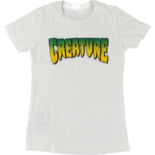 CREATURE - Logo Girls Ss L-white