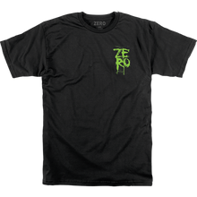 Zero - Blood Stacked Ss S-black - T-shirt