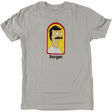 Habitat - Bob's Burgers Burger Ss L-grey - T-shirt