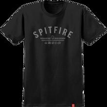 Spitfire - Burn Division Ss S-blk/grey - T-shirt