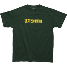 TRANSWORLD MAG - Classic Magazine Ss S-green - T-shirt
