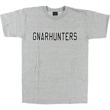 Gnarhunters - College Outline Ss L-grey - T-shirt