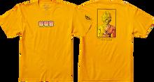 Primitive - Dbz Goku Saiyan Style Ss S-gold - T-shirt