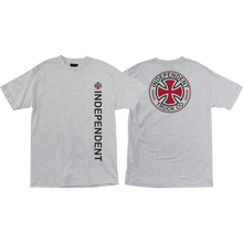Independent - Directional Ss M-athletic Heather - T-shirt