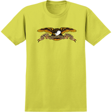 Anti Hero - Eagle Ss S-safety Green - T-shirt