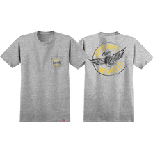 Spitfire - Flying Classic Pocket Ss Xl-athletic Htr/yel/bk - T-shirt