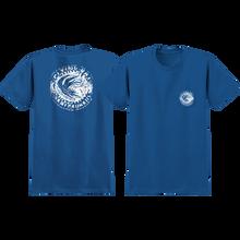 Anti Hero - Flying Rat Pocket Ss S-royal/wht - T-shirt