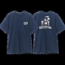 Blind - Heritage Smoking Jesus Ss M-navy - T-shirt