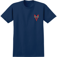 Venture - Heritage V Ss S-navy/red - T-shirt