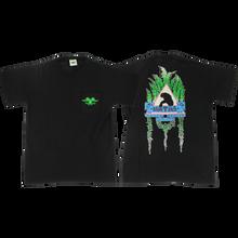 SMA - Natas Leaves Pocket Ss M-black - T-shirt