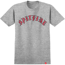 Spitfire - Old E Fill Ss S-athletic Heather/red - T-shirt