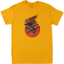 Real - Screaming Bird Ss M-gold - T-shirt