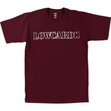 LOWCARD - Standard Line Ss Xl-maroon/wht - T-shirt