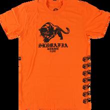 SKATE MAFIA - Street Life Ss M-orange - T-shirt