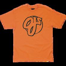 OJ WHEELS - Team Ss S-orange - T-shirt