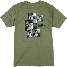 Habitat - Peaks Cooper Coffee Sequence Ss M-olive - T-shirt