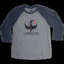 Darkroom - Birdstrike 3/4 Slv S-charcoal/navy
