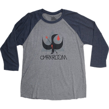 Darkroom - Birdstrike 3/4 Slv Xl-charcoal/navy