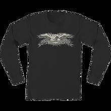 Anti Hero - Hesh Eagle L/s S-blk/wht/discharge