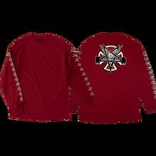 Independent - Thrasher Pentagram Cross L/s M-red
