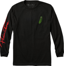 Primitive - R&m Pickle Rick L/s L-black