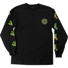 Santa Cruz - Tmnt Sewer Dot L/s S-black