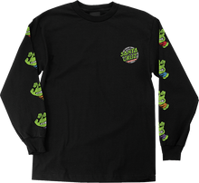Santa Cruz - Tmnt Sewer Dot L/s M-black