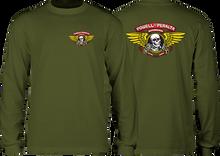 Powell Peralta - Winged Ripper L/s Xl-military Green