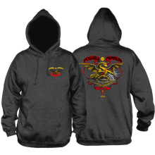 Powell Peralta - Banner Dragon Hd/swt M-charcoal - Skateboard Sweatshirt